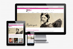 Florence Nightingale Museum website design and development