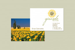 Sunflower logo design