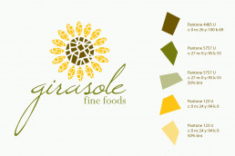 Girasole logo design