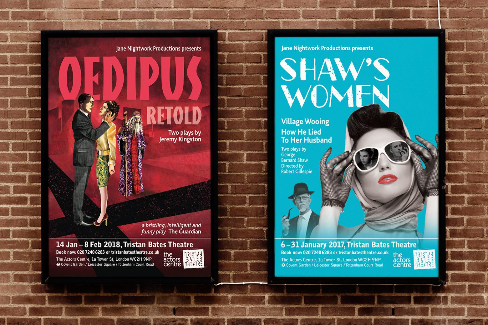 Theatre poster design
