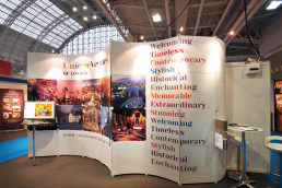 Unique Venues of London Exhibition Stand design