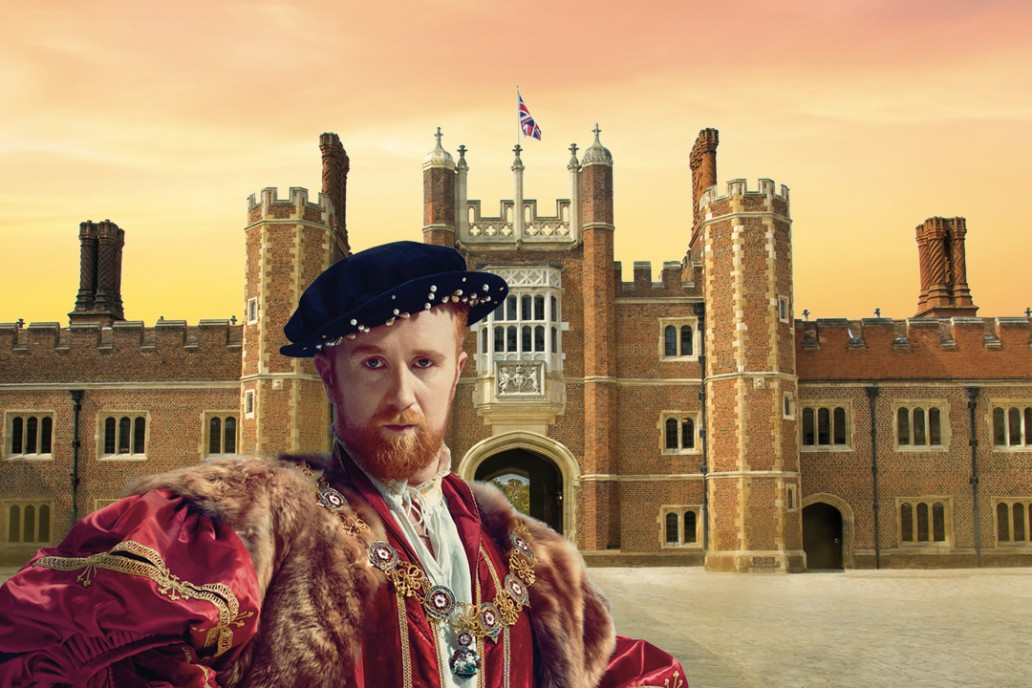 Hampton Court Palace design and advertising