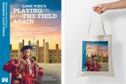 Field of Cloth of Gold, Henry VIII advertisement