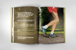 parkrun, a celebration spread with quotes