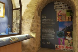 Rochester Cathedral design exhibition graphics