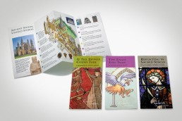 Rochester Cathedral visitor engagement leaflets