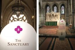 Rochester Cathedral interpretation design