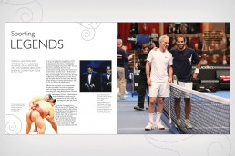 Royal Albert Hall John McEnroe and Pete Samprass