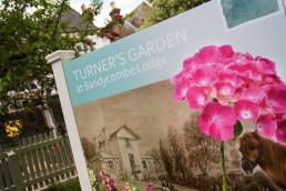 Interpretation Design Turner's House and Garden Twickenham